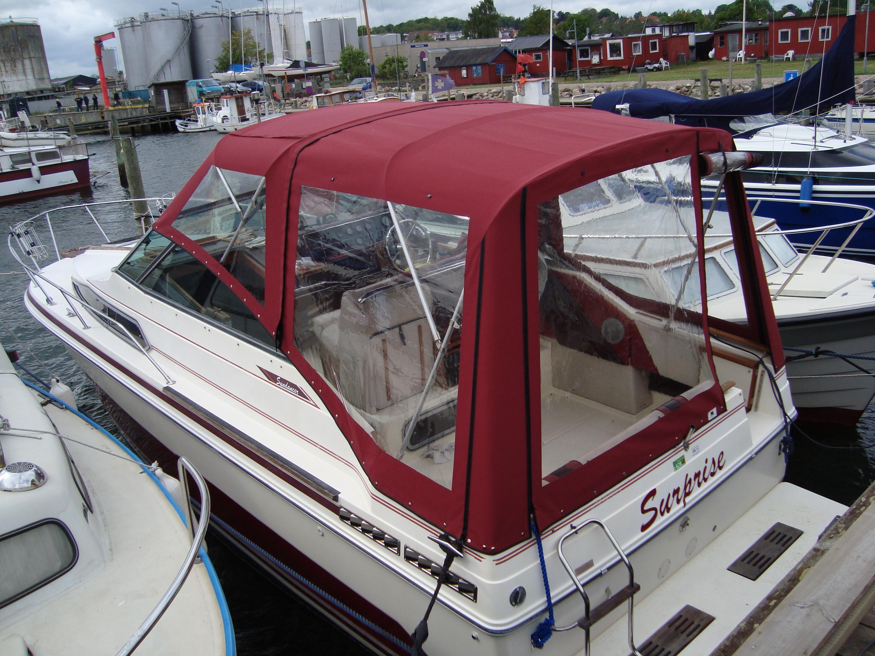 Bådkaleche motorbåd