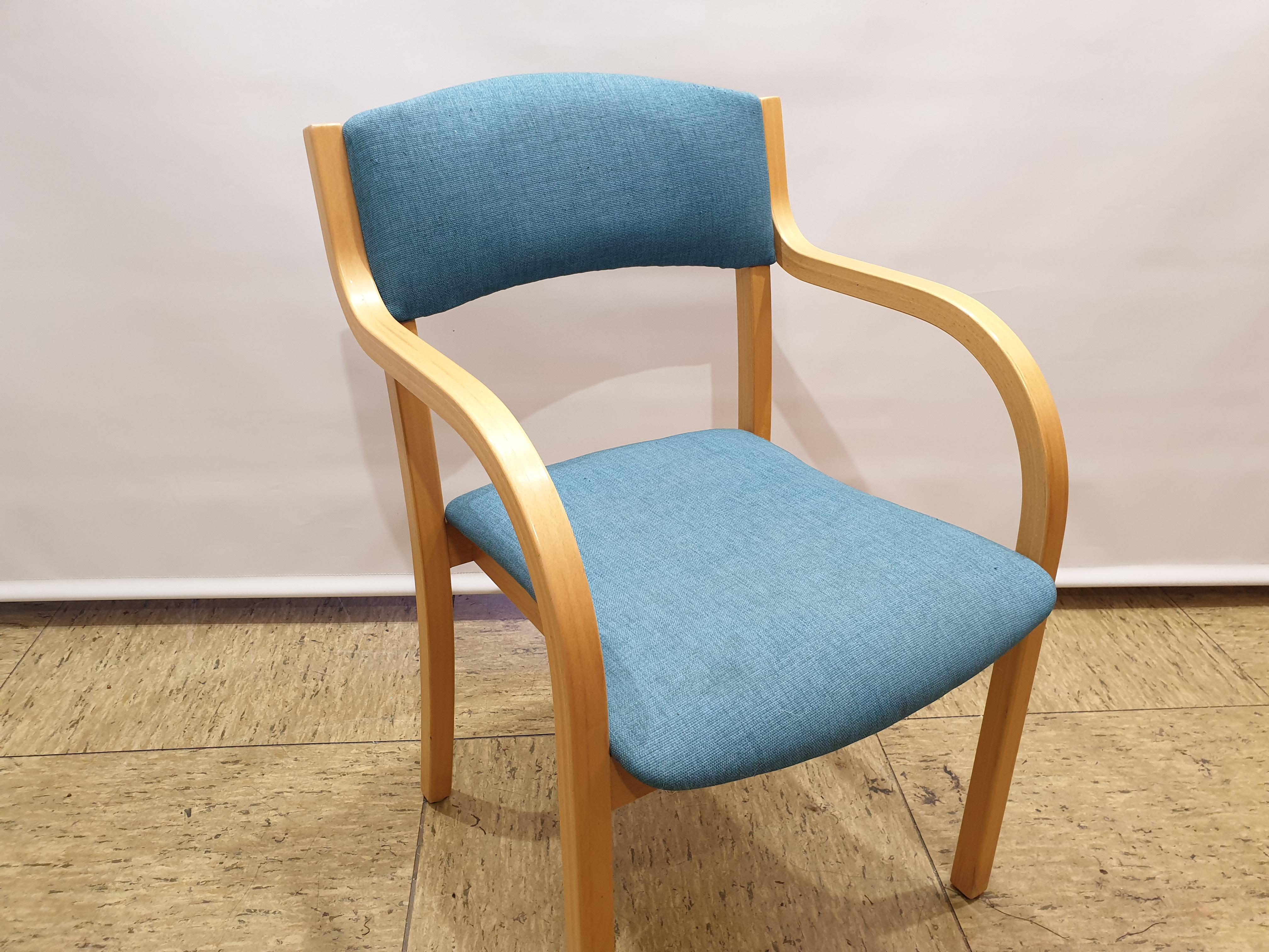 brugt stol med betræk fra lido Nevotex